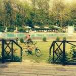 Cycles available on the resort to ride around