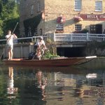 Granta agree to my request to punt with my bike (see review of 2 Aug 14)