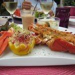 hummmmmmmmmm ce homard grillé !