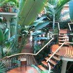 Hotelgelände Innen