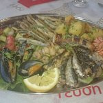 Mixed fish - absolutely delicious