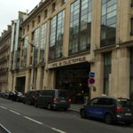 View from Street, rue de Courcelles