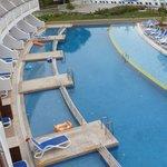 chambre familiale avec piscine privative