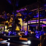 Outside heaven nightclub,night time it's beautiful