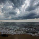 Storm after a sunny day at Tanjong Jara
