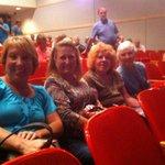 3rd row seating at CRT