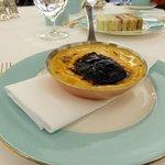 l'omelette homard et truffe