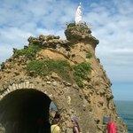La Roca de la Virgen de Biarritz