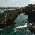 Rocas adyacentes a la Roca de la Virgen con bellas formas