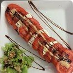 Salade de tomate mozzarella