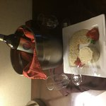 Wine and cheese delish!!