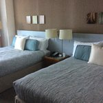 excelentes camas, muy confortables