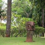 Garden villa view