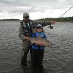 Chum Salmon on main river