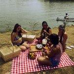 Picnic en el lago
