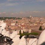 View towards the Vatican