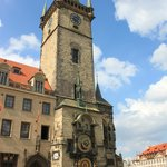 Tour starts from the astronomical clock.