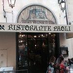 Da Paoli : un bon resto à Florence ! Joli cadre, bonne bouffe, service sympa, et endroit parfait
