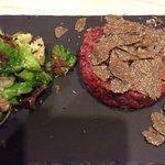 Steak tartare a la truffe