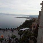 Vista panoramica da Taormina