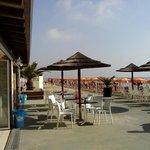 Strandbar (Cappuccino € 1.40)