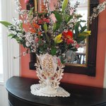 Spring bouquet in the front parlor