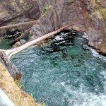 Top waterfall
