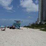 zona cercana de la playa del hotel