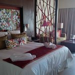 Bed and suite area