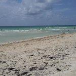 Playa frente del hotel