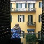 Balcony... Lovely Florence
