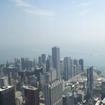 View of Chicago from Willis Tower.