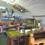 Inside the Cafe and Chandlery