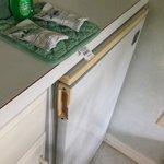 Broken refriegerator handle