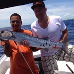 """I graduated from """"bait fishing"""" to """"dinner fishing"""" to """"sport fishing.""""  Thanks Manny and Cliff!"""