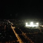 view of MCG from 44th floor