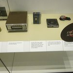 display of changing technology