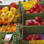 Fruit stall in the Hauptmarkt