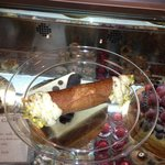 Nothing special about this pistachio cannoli