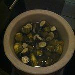 pickles on salad bar