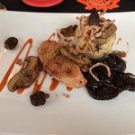 Mushroom Crusted Chicken