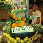 Nice fruit carving