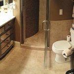 Bathroom in the Syrah Suite