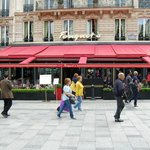 Fouquet's - fun eating on the Champs Elysees