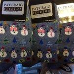 Holiday winter socks @ Pat Craig Studios