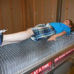 Enjoyable bed of nails :)