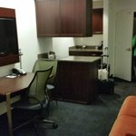 Suite kitchenette area, Club Quarters Boston  |  161 Devonshire Street, Boston, MA 02110