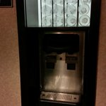 Free, unlimited water from a dispenser in the hallway.  Great feature! Club Quarters Boston  |