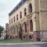 Reduta Bank ruin near Prozna Street
