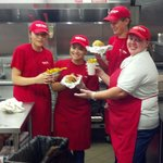 This crew makes the best burgers and fries!  They all made our experience so enjoyable